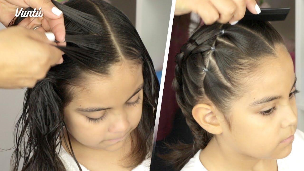 5 Peinados Faciles Para Ninas Que Tu Hija Amara Youtube
