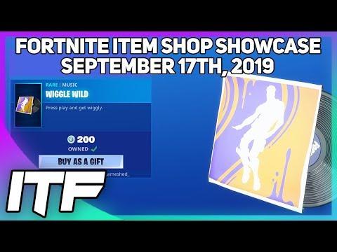 Fortnite Item Shop *NEW* WIGGLE WILD MUSIC! [September 17th, 2019] (Fortnite Battle Royale)