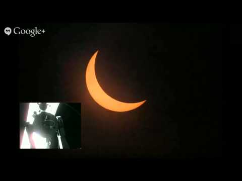 Solar Eclipse of March 20, 2015 Live from Denmark, AGS - Als