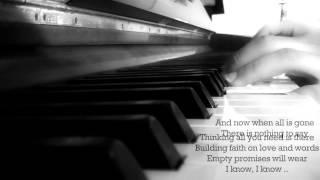 IMPOSSIBLE - JAMES ARTHUR (PIANO COVER + LYRICS)