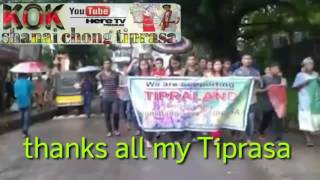 Bangladesh supporting for Tipraland rally