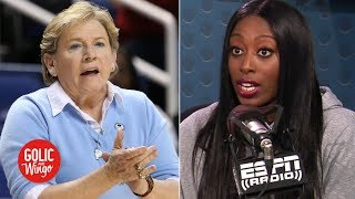 'The game has changed' - Chiney Ogwumike on Sylvia Hatchell resigning from UNC | Golic and Wingo