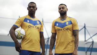 Stags reveal new home kit!