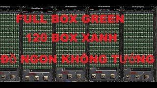 MuAwaY Mobile | Thử Thách Đập FULL Box Green | 120 Box Xanh Ra Đồ Ngon Hay Không
