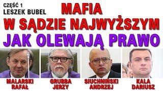Mafia w Sądzie Najwyższym - Leszek Bubel