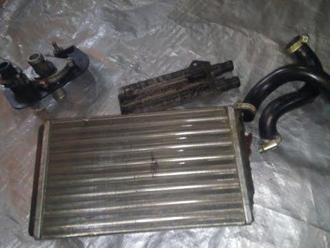 Замена радиатора печки ваз 2114 -2115 без снятия панели