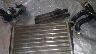 видео Ваз 2114: замена радиатора печки своими руками - инструкция