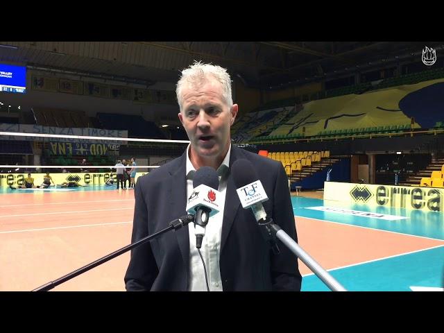 Così Vital Heynen dopo Modena-Perugia