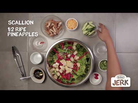 Jamaican Jerk Chicken Salad Grace