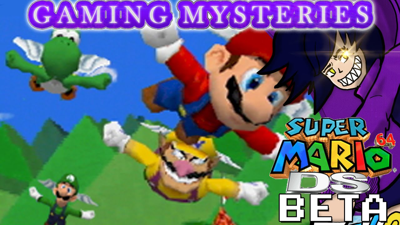 Gaming Mysteries: Super Mario 64 DS Beta (DS)