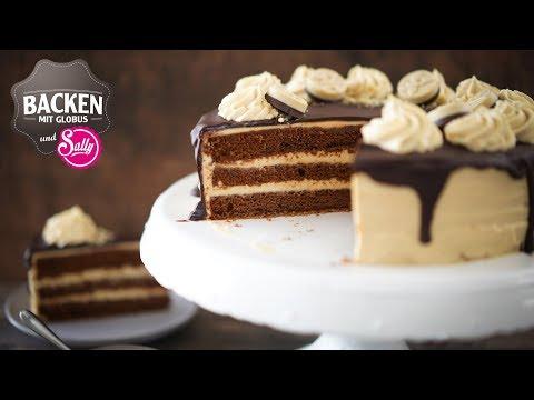 KaramellSchokoladenTorte | Backen mit Globus & Sallys Welt #65