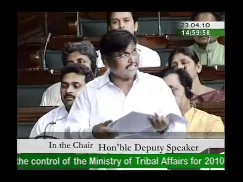 Part 2: Ministry of Tribal Affairs for 2010-11: Sh. Arjun Munda: 23.04.2010