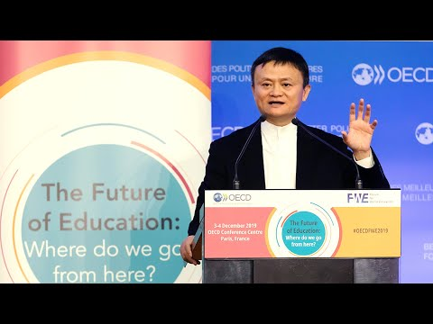 Jack Ma: Education Needs to Keep Up with Fast-Changing World