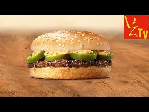 Ostry burger Jalapeńo z McDonalds