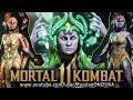 Mortal Kombat 11 - ЦЕТРИОН - ВСЕ КОСТЮМЫ и ОРУЖИЕ