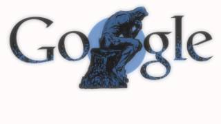 Auguste Rodin - Google Doodle for the French sculptor
