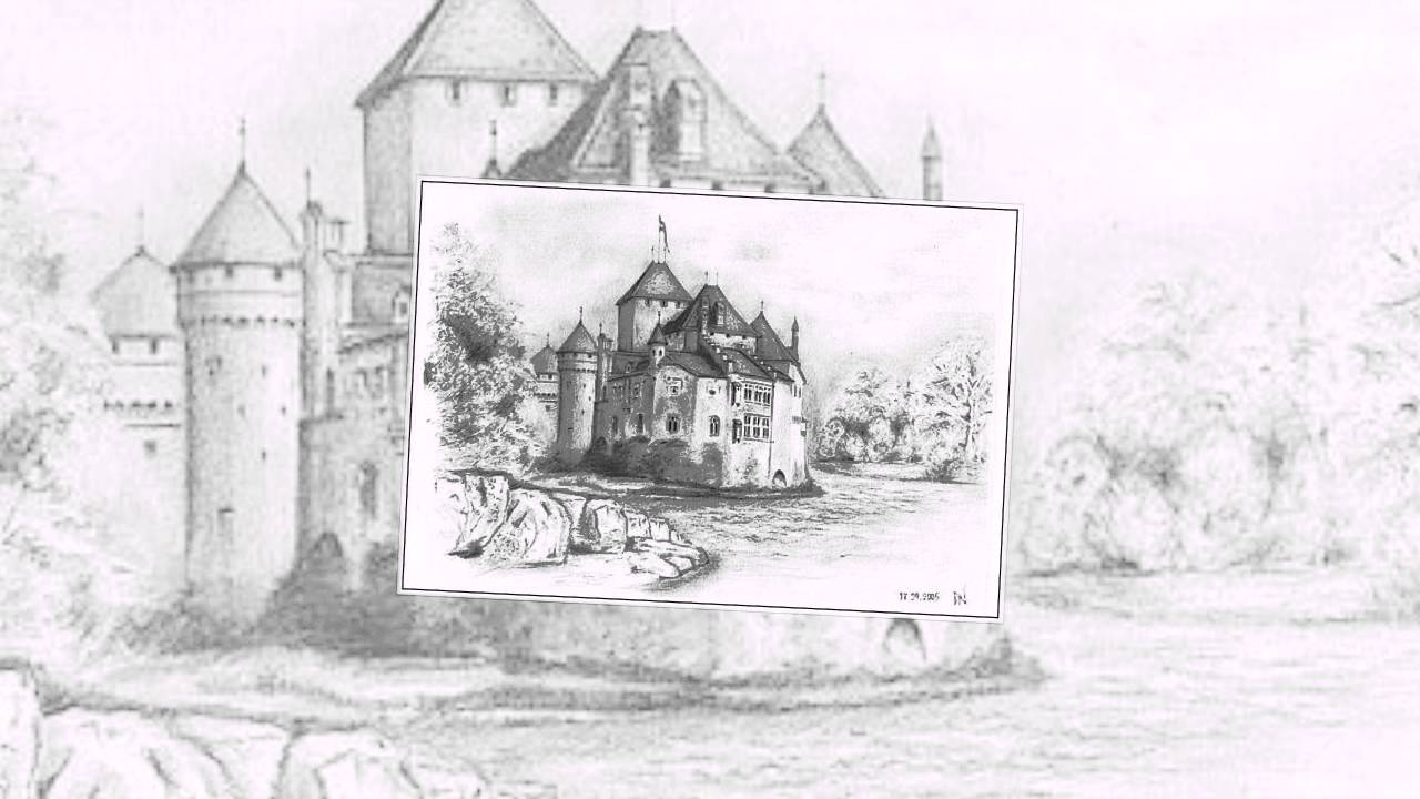 Прикольные, мирский замок картинки для срисовки