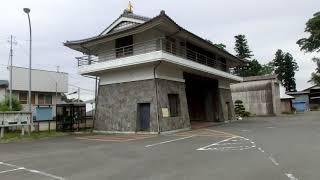 喜連川城大手門  2018年5月28日 栃木県さくら市喜連川