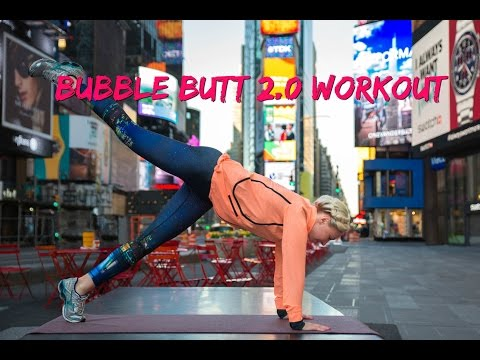 BUBBLE BUTT WORKOUT SERIES (TIMES SQUARE, NEW YORK CITY) thumbnail