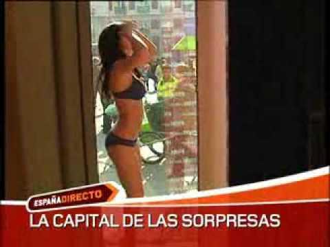 En cueros en la Puerta del Sol - España Directo TVE