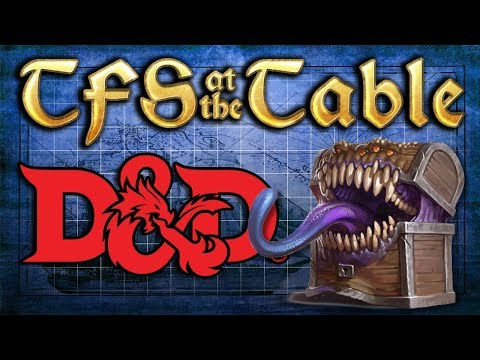 TFS At the Table: Chapter 1 Episode 5: Cave of spooks | Dungeons and Dragons | TeamFourStar