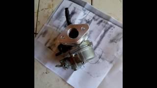 Adaptação carburador Montgomery 137 - Carburador de Biz pt. II