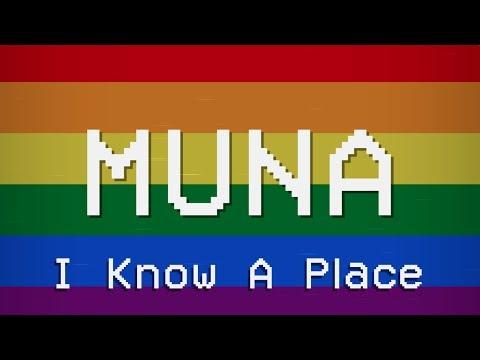I Know A Place (Lyric Video) - MUNA
