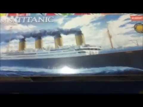 RMS TITANIC Model By Academy Hobby Model Kits.