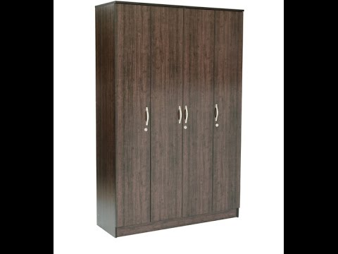 Self Assemble Furniture pepperfry furniture assembly review | four door wardrobe - youtube