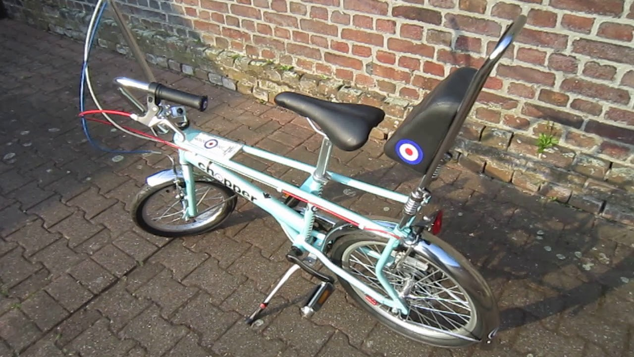 Raleigh Chopper BIKE MOD Limited Edition MY BIKE STORY CYCLE SEVICE  SIDMOUTH not a Brompton 2018