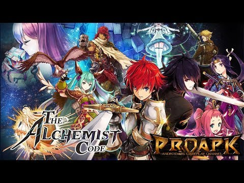 The Alchemist Code Gameplay Android / iOS (by gumi) (Turn-Based Strategy)