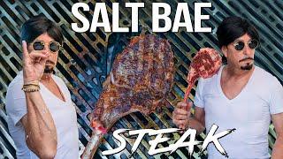 SALT BAE Secret Steak Recipe | SAM THE COOKING GUY 4K
