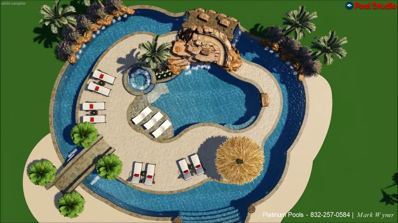 Lazy Rivers A Trend In Custom Designed Pools Platinum Pools