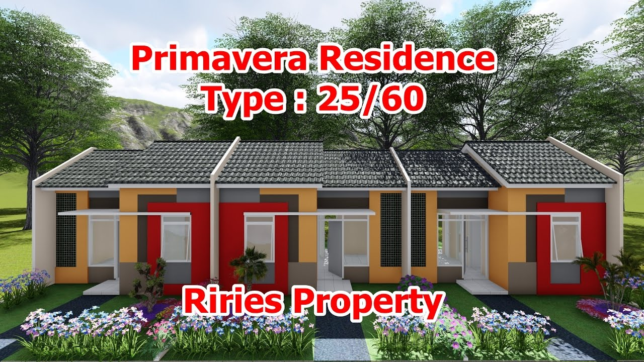 Primavera Residence Februari 2017 Type 27 60 Rumah Minimalis Subsidi