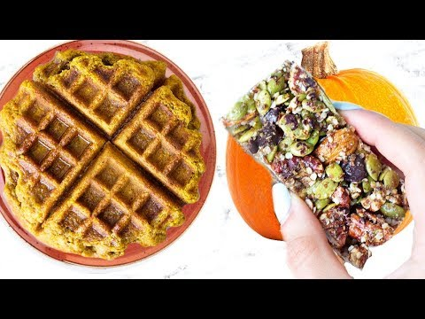 HEALTHY PUMPKIN SPICE RECIPES! EASY AND QUICK!