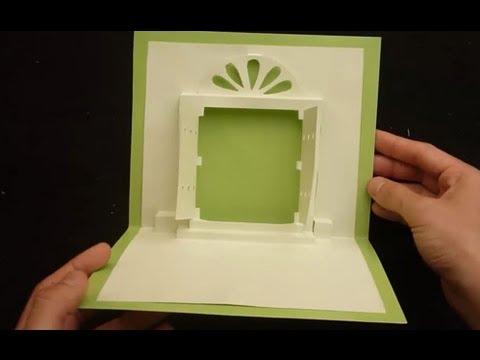 Heaven39s Door Pop Up Card Tutorial Origamic Architecture & Pop Door - Sanfranciscolife