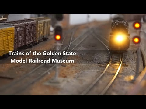 Golden State Model Railroad Museum N and HO Layout Tour: Exclusive Hidden Scenes