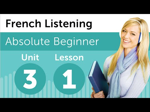 French Listening Comprehension - Getting Help from the Teacher in France