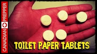 INCREDIBLE! Bug Out Bag Toilet Paper Tablets | Canadian Prepper