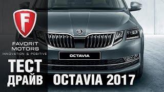 Тест драйв Skoda Octavia 2017.  Видео обзор новой Шкода Октавия - Автопрага