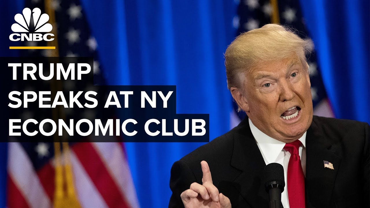 President Trump speaks at NY Economic Club amid US-China trade concerns – 11/12/2019