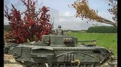 'Halfway to Arnhem'; WWII Armorama 1/35 by Willem van Maanen.