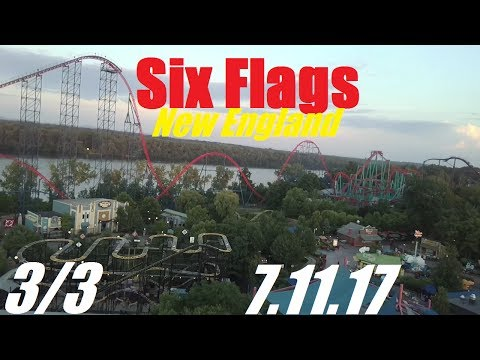 Six Flags New England Vlog - 7.11.17 (Part 3/3)