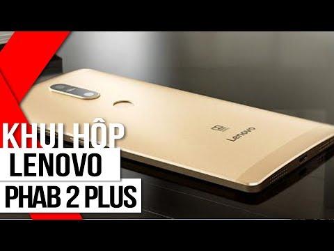 FPT Shop - Khui hộp Lenovo Phab 2 Plus - Phablet tầm trung camera kép, màn hình lớn