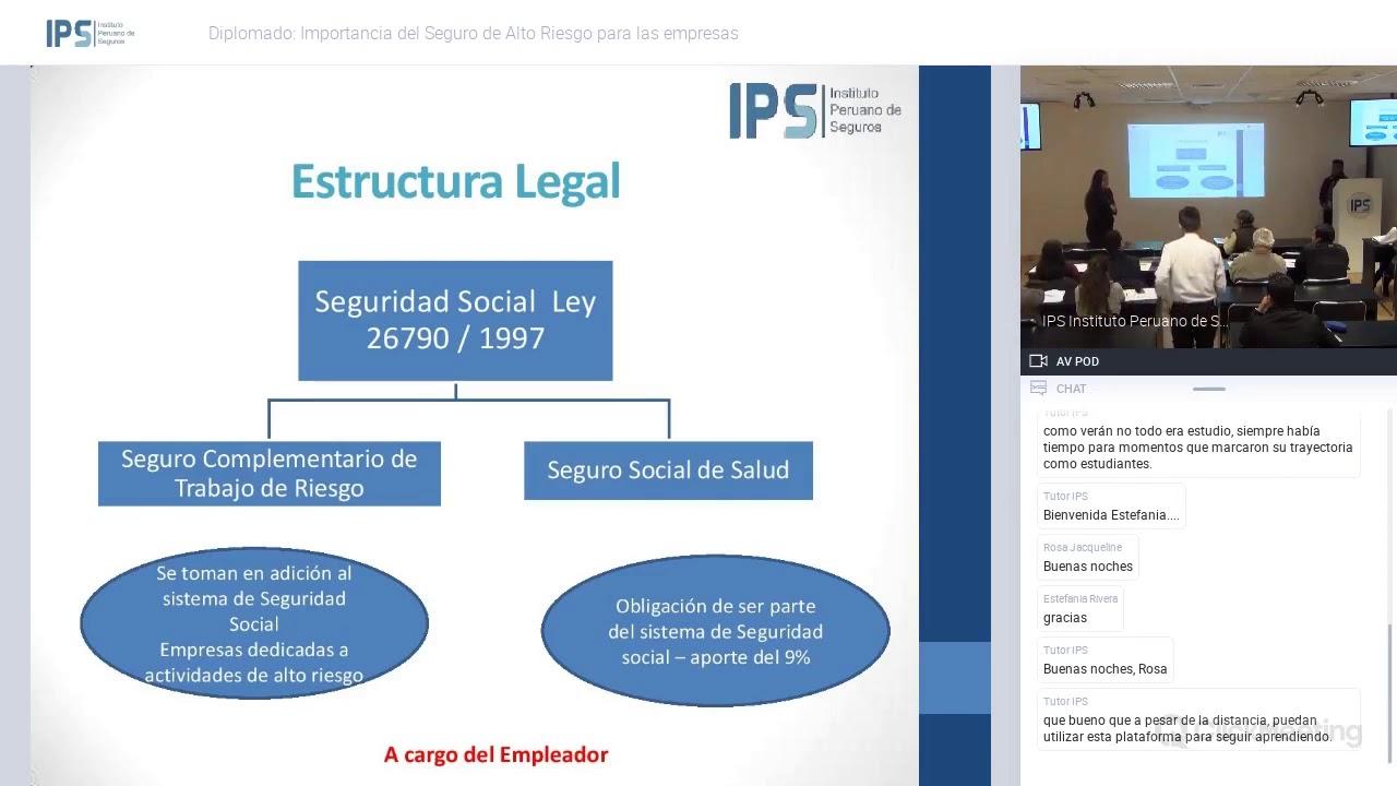 Ips Diplomado Importancia Del Seguro De Alto Riesgo Para Las Empresas Parte 01 04