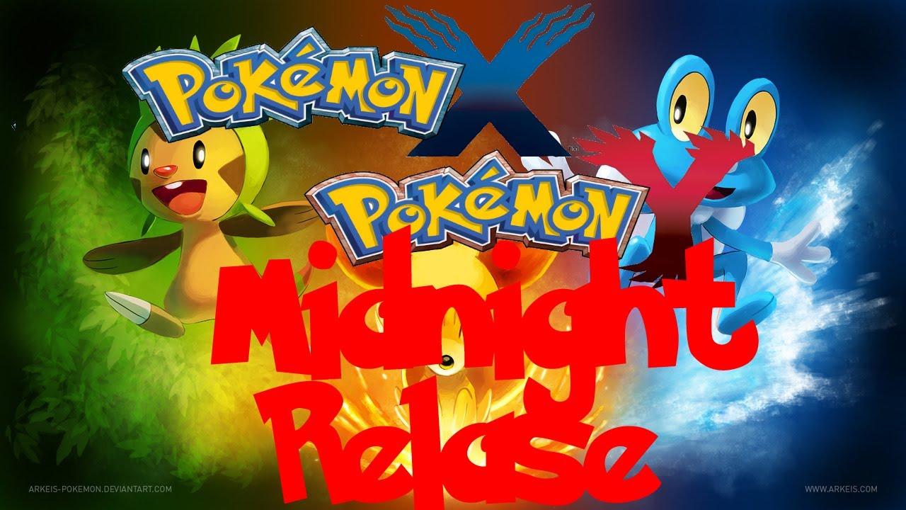 Pokemon X Y Gamestop Midnight Relase Party Youtube