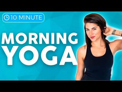 Morning Yoga Practice (20 minute Yoga) FLOW & STRETCH