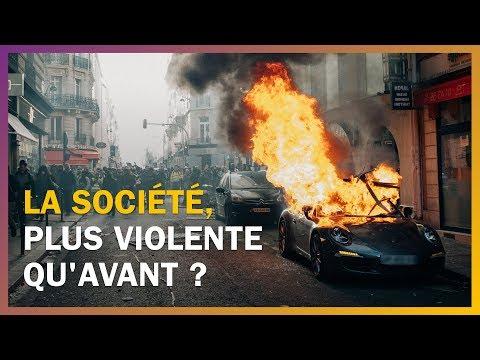 La société est-elle plus violente qu'avant ?