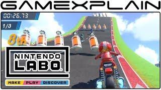 Nintendo Labo Variety Kit - English Overview Trailer (Create Bike Tracks, Fish, Music, & More!)