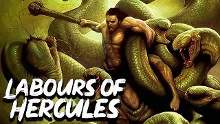 The 12 Labours of Hercules Heracles Greek Mythology Stories See U in History